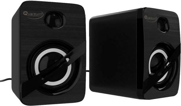 QUANTUM QHM 690 Portable Laptop/Desktop USB 2.0 Powered Multimedia Speaker with AUX Input Deep Bass, 3.5mm Audio Input 6 W Laptop/Desktop Speaker