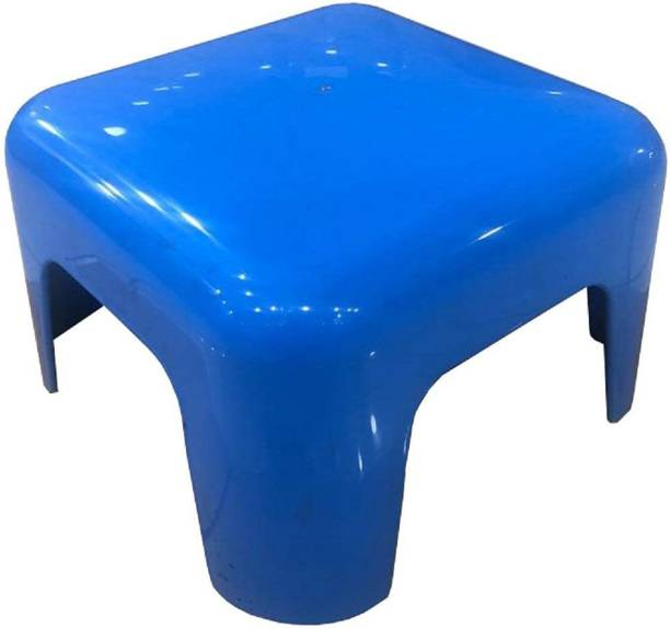 SOUVENIR Heavy Duty Plastic Stool Bright Color Attractive Look Strong Build Mini Stool for Bathroom & Kitchen Stool