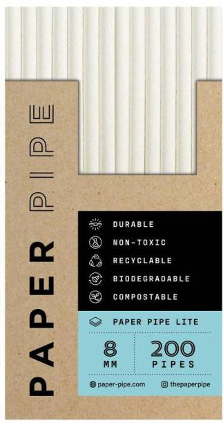 PaperPipe Straight Drinking Straw