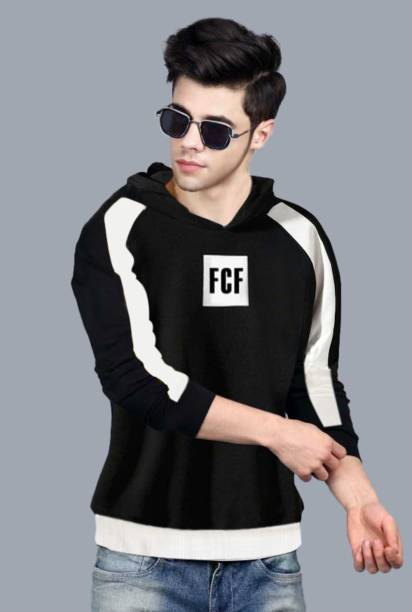 FastColors Full Sleeve Color Block Men Sweatshirt