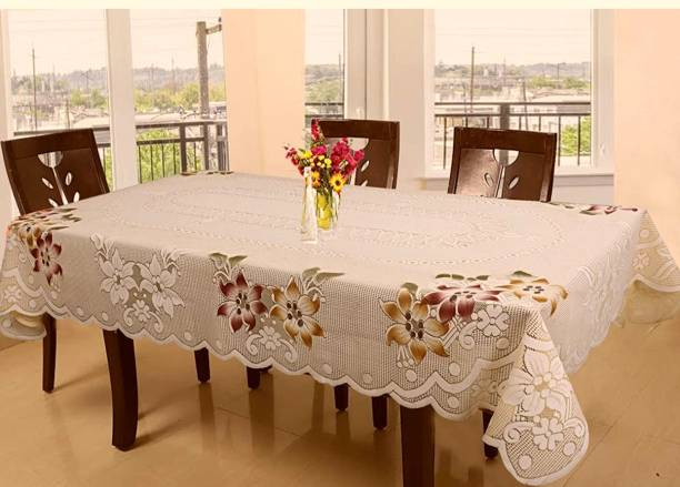 DELHI PVC CORP Floral 8 Seater Table Cover