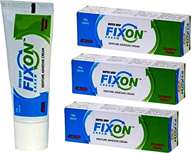 ICPA Fixon Denture Adhesive Cream Toothpaste