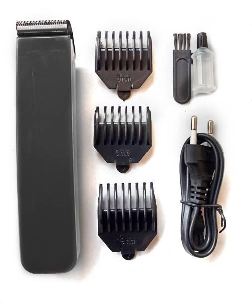 novo NS 216 Black Hair Trimmer Hair Clipper  Runtime: 45 min Trimmer for Men & Women