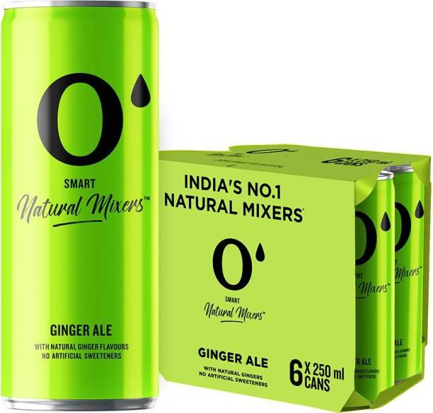 O' Smart Natural Mixer Ginger Ale Can