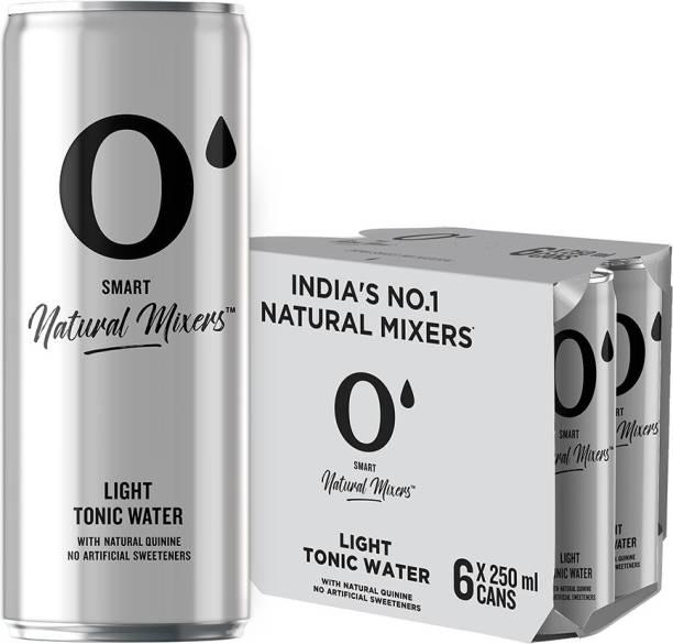 O' Smart Natural Mixer Light Tonic Water Can