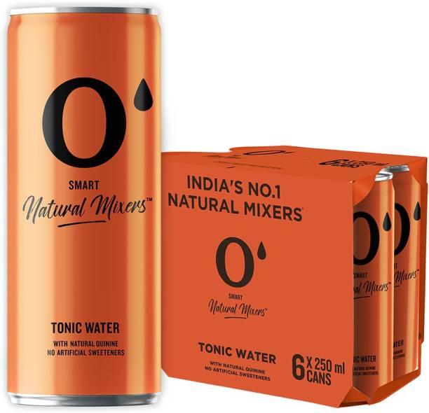 O' Smart Natural Mixer Tonic Water Can