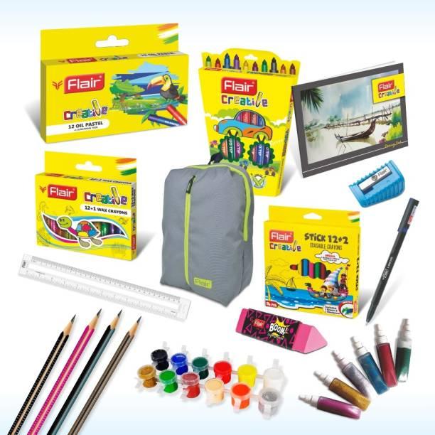 Flair Creative Premium Kit with Grey Bag