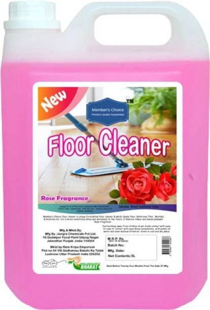 Member's Choice Disinfectant Pink Floor Cleaner With Rose Fragrance  5L  Rose