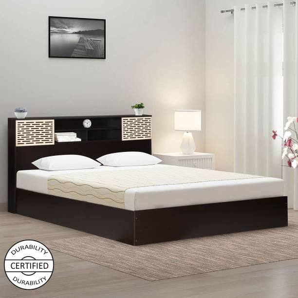 TREVI Blaze Engineered Wood Queen Box Bed