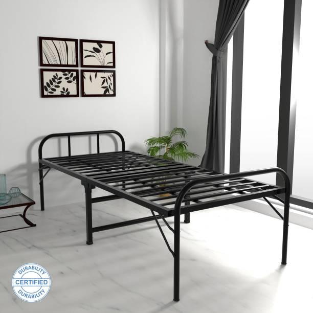 HoneyTouch Folding Metal Single Bed