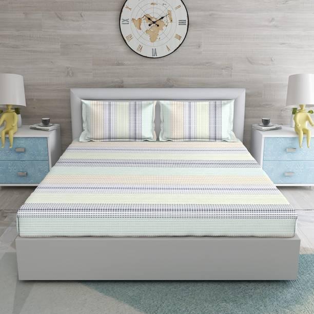 DUROFLEX 120 TC Cotton King Printed Bedsheet