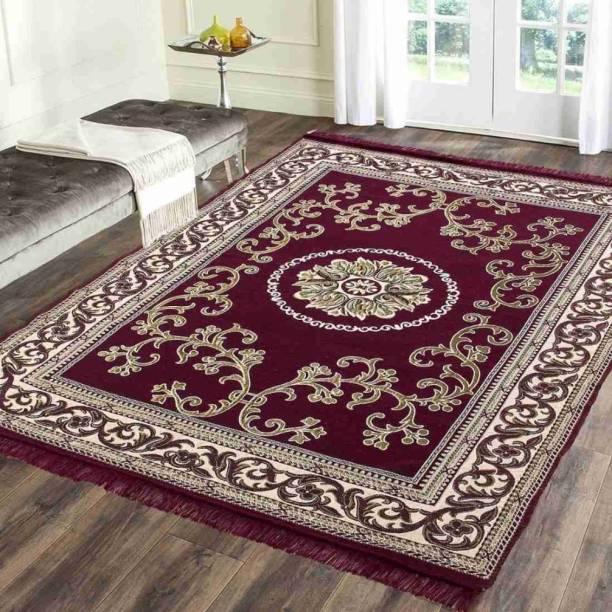radion Multicolor Velvet Carpet