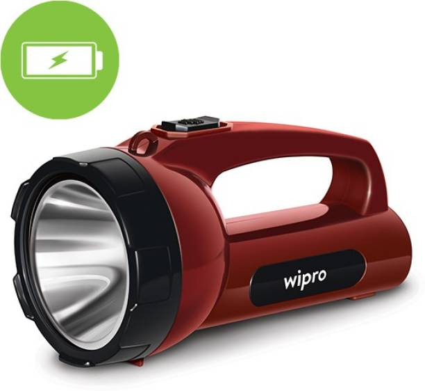 WIPRO Emerald Plus LED rechargable Torch Torch Emergency Light