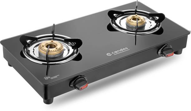 Candes Magma Glass Manual Gas Stove