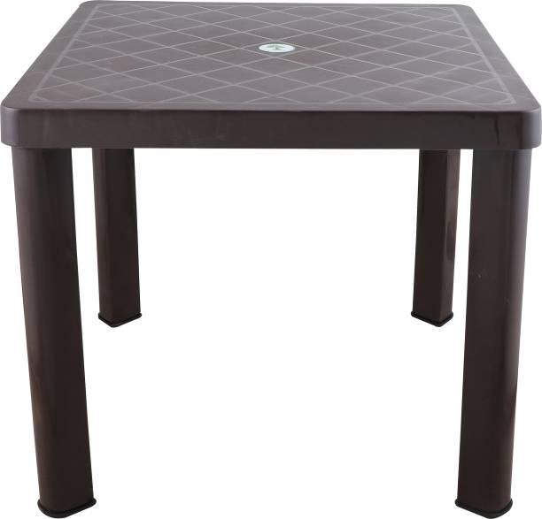 Aaron Villa Patio Table   Baloney Table   Side Table   Coffee Table Synthetic Fiber Outdoor Table
