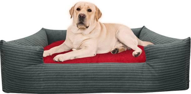 Hiputee Reversible Waterproof Chew Proof Ecofriendly Rectangular Pet Dog Cat Bed XXXL Pet Bed