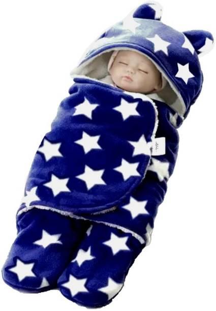 BRANDONN New Born Wearable Sleeping bag Wrapper For Baby Boys And Baby Girls Sleeping Bag