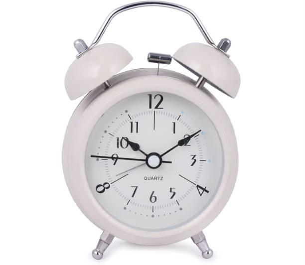 AZACUS Analog White Clock