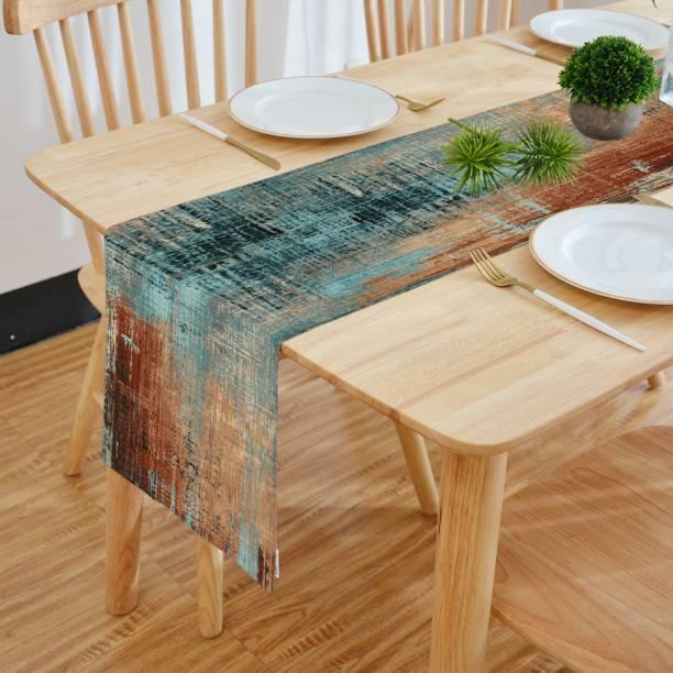 HOMADORN Multicolor 182.88 cm Table Runner