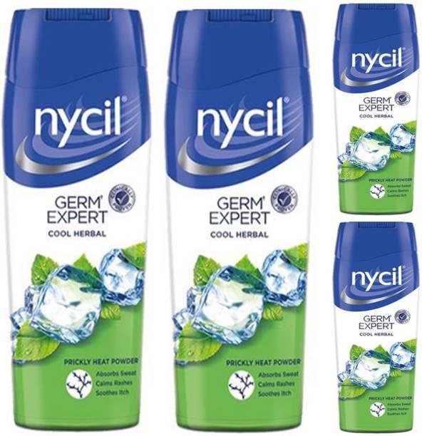NYCIL Germ Expert Cool Herbal Prickly Heat Powder