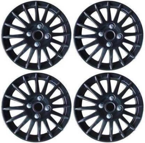 HOTRENZ Sporty Matte Black Wheel Cover Wheel Cover For Maruti Swift Dzire