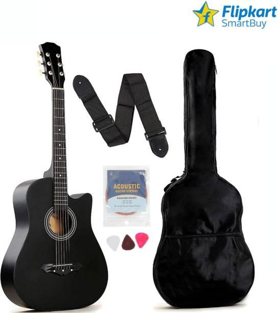 Flipkart SmartBuy FKSB-38G-BK Acoustic Guitar Linden Wood Rosewood Right Hand Orientation