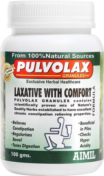 AIMIL Pulvolax Granules for Relief from Constipation Acidity IBS and Gastric Issues