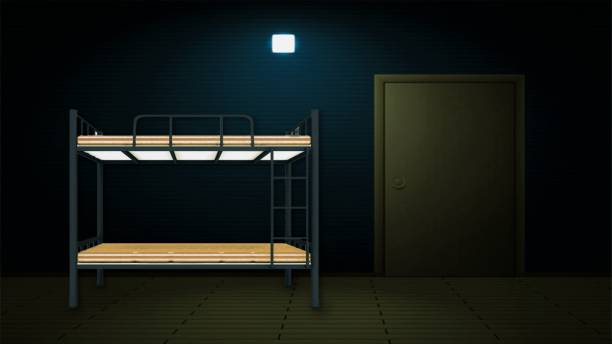 Vibrant Interior Azerbaijan Metal Bunk Bed