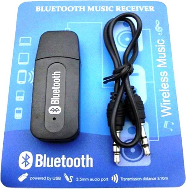 Raj Collections v4.0 Car Bluetooth Device with Adapter Dongle, Audio Receiver, USB Cable