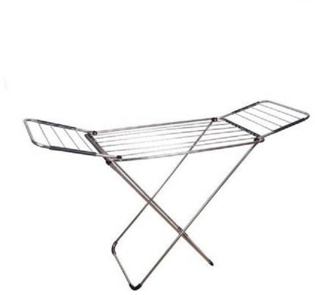 MFY – MADE FOR YOU Steel Floor Cloth Dryer Stand SS-Folding-Stand