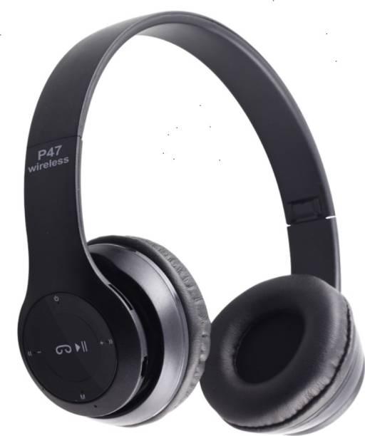 DigiClues Boombox Foldable Bluetooth Headset