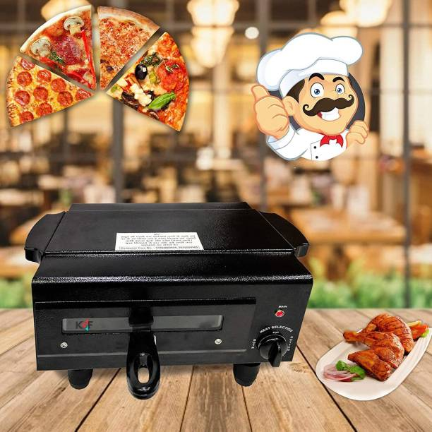 Wellberg CLASSIC HEAT Controller STANDARD Electric Tandoor With All Accessories , Heating Element 2000Watt with 2 Year warranty , SIZE 16 INCHES Color Classy BLACK , MADE IN INDIA Pizza Maker