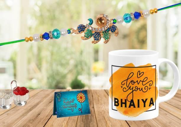 Suppro Rakhi, Mug, Chawal Roli Pack, Greeting Card  Set