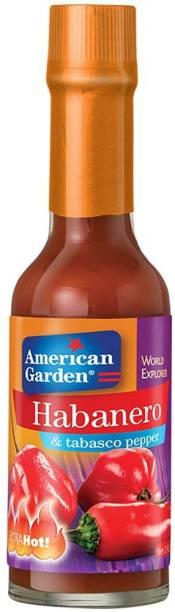 American Garden Habanero & Tabasco Pepper Extra Hot , 58ml Sauce