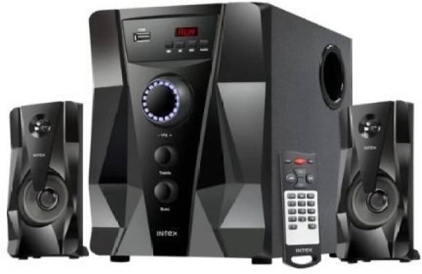 Intex 2.1 CRYSTAL FMUB BLUETOOTH REMOTE 45 W Bluetooth Home Theatre