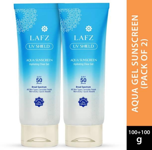 LAFZ UV Shield Aqua Sunscreen - SPF 50 PA+++