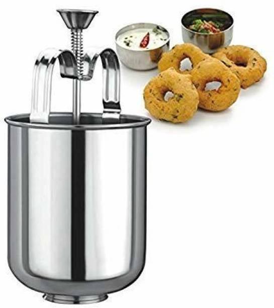 TRENDBIT Kitchen Appliances - WADA Vada Donut Maker Dispenser, Stainless Steel. Vada Maker Vada Maker