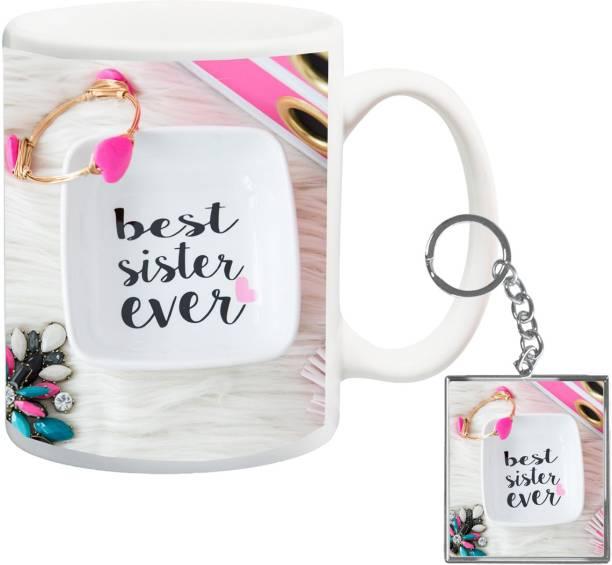 Stylotrendz Mug, Keychain Gift Set