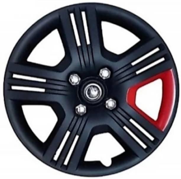 JBMRGaurav JBMR Gaurav 12-inch red&black wheel cover Wheel Cover For Hyundai, Honda, Maruti, Tata 4 Series