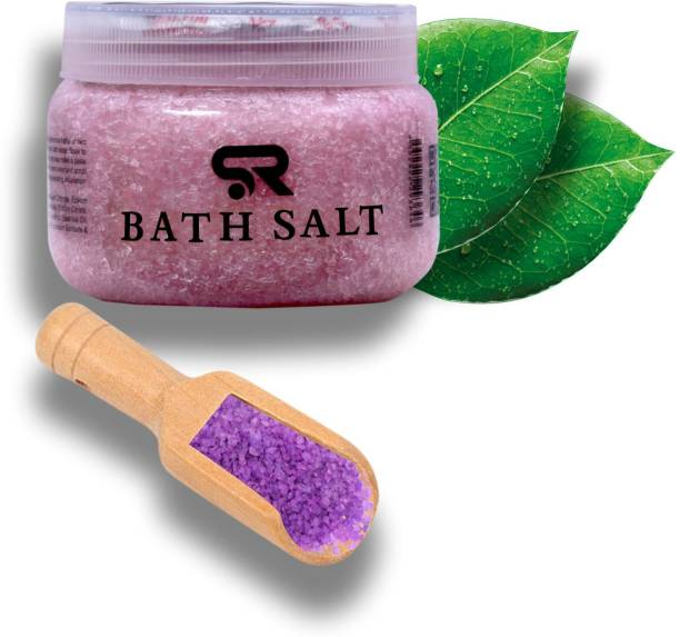 SR ENTERPRISE Cherry Blossom Bath Salt for Relaxation and Pain Relief