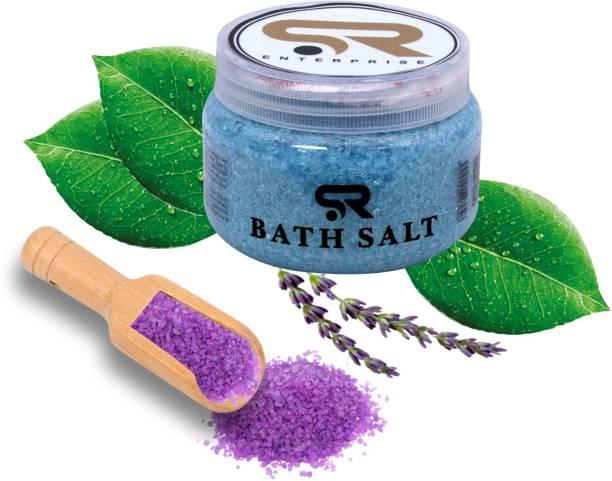 SR ENTERPRISE Blue Barry Bath Salt for Relaxation and Pain Relief
