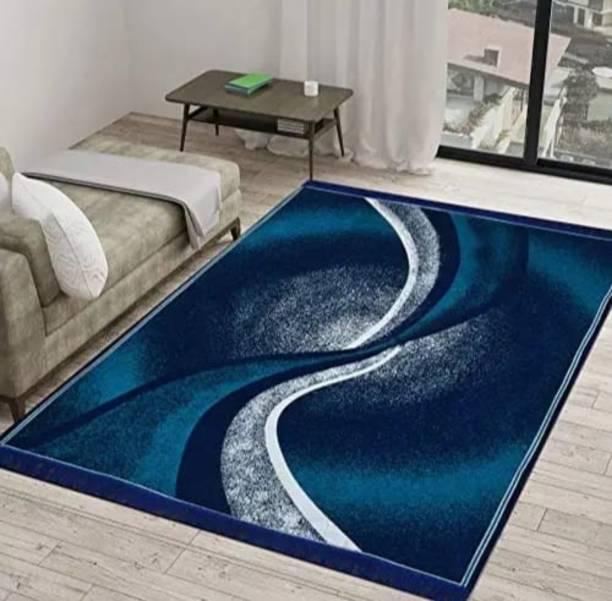 radion Blue Velvet Carpet
