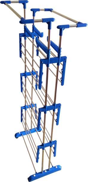 TNC Steel Floor Cloth Dryer Stand J005