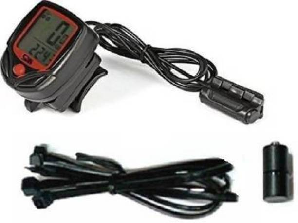 WOLBLIX Premium Quality Waterproof Bicycle Speedometer, Watch, etc. Wired Cyclocomputer Wired Cyclocomputer