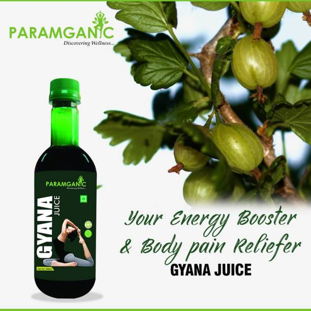 paramganic Gyna Juice for Women with 19 Ayurveda Ingredients,Helps in treating Irregular and prolonged & Painful Menstruation