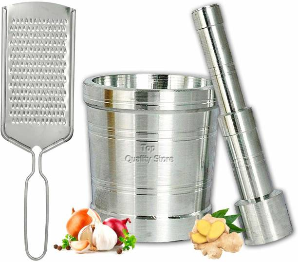 Top Quality Store Mortar & Pestle / Imam Dasta / Ohkli Musal / Kharal / Khalbatta / Okhli Masher / Masher / Aluminium Masher Aluminium Masher Aluminium, Steel Masher