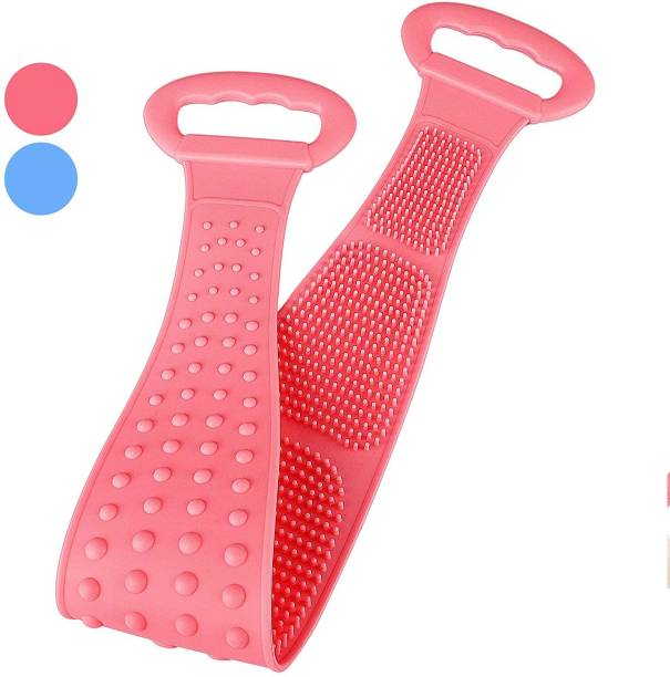 Daily Fest Silicone Back Scrubber for Shower, Bath Scrubber Back Cleaning Strap, Rich Foam, Long Lasting, Safe, Comfortable Massage Belt Grooming Gloves for Cat, Dog, Dog & Cat, Donkey, Monkey, Rabbit, Tortoise, Turtle