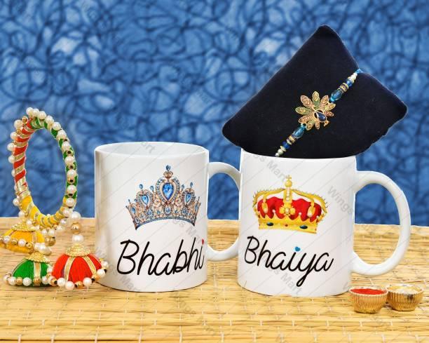 Occasion Era Mug, Rakhi, Greeting Card  Set