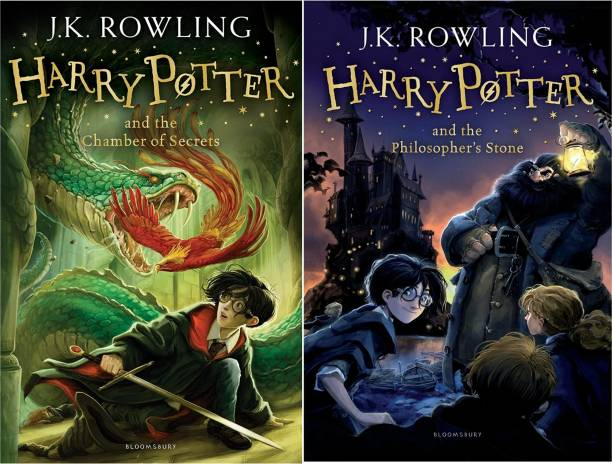 First 2 Title In The Harry Potter Series: The Chamber Of Secrets And The Philosopher's Stone