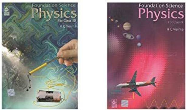 Foundation Science Physics For Class - 9 &10 Examination -( Set Of 2 Books)